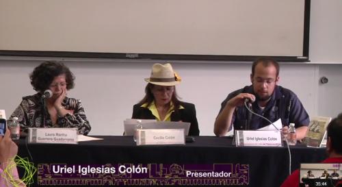 """Presentación del libro: """"Dos siglos, una novela: Monja y casada, virgen y mártir"""", FIL Minería 2013"""