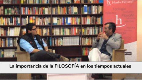 Pensar para vivir, una charla con el Dr. Manuel Cruz