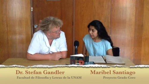 El Discreto encanto de la Modernidad, una entrevista con el Dr. Stefan Gandler