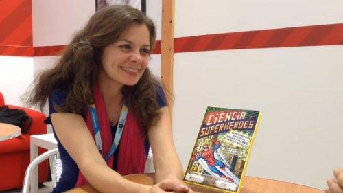 Ciencia y Superhéroes, una conversación con Paula Bombara