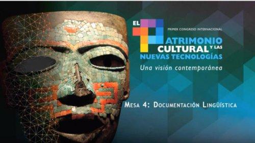 Mesa 4: Documentación Lingüística