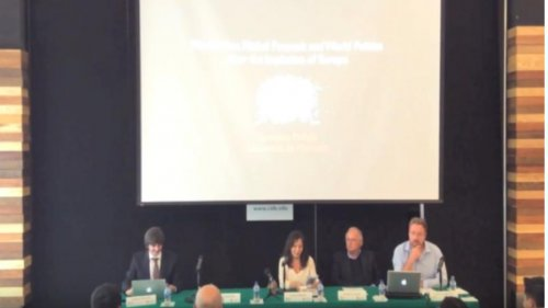 Las intervenciones humanitarias como dominación racional con el Profesor Laurence McFalls