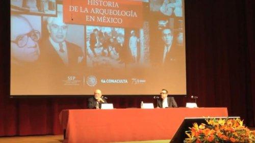 Conferencia Magistral: Historia de la Arqueología Mexicana, del Dr. Eduardo Matos Moctezuma