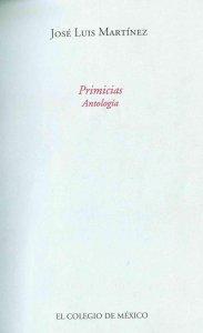 Primicias : antología