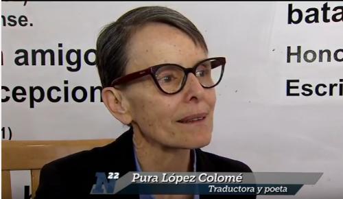 Pura López Colomé traduce el pensamiento de Lawrence Hill