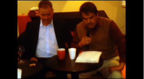 Raúl Manríquez presenta su novela ''Días de septiembre''