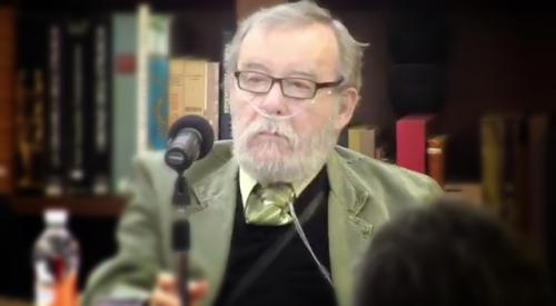 Samuel Gordon en el Homenaje a Rosario Castellanos