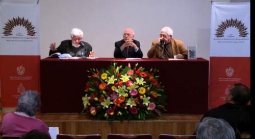 Rueda de prensa sobre el XV Congreso de la Asociación de Academias de la Lengua Española