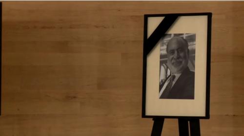 Homenaje luctuoso a don José G. Moreno de Alba