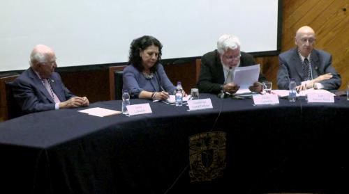 ''La Biblioteca Nacional de México y la Academia Mexicana de la Lengua'', inauguración de la exposición y mesa redonda