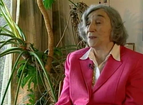 Maestros detrás de las ideas-Margit Frenk- Maestra entre dos mundos