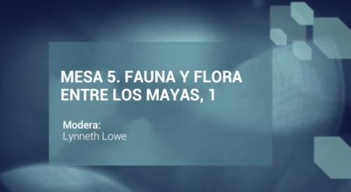 Jornadas Filológicas. Mesa 5. Fauna y flora entre los mayas, 1
