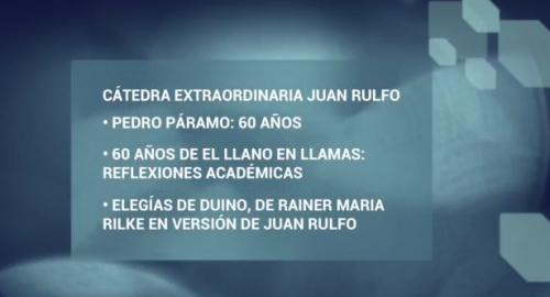 Jornadas Filológicas. Cátedra Extraordinaria Juan Rulfo