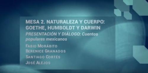 Jornadas Filológicas. Mesa 2. Presentación y diálogo: Cuentos populares mexicanos