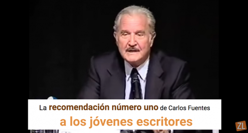 """La """"recomendación número uno"""" de Carlos Fuentes a los jóvenes escritores"""