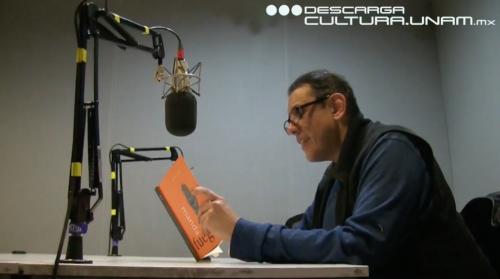 Alberto Chimal en Descarga Cultura.UNAM