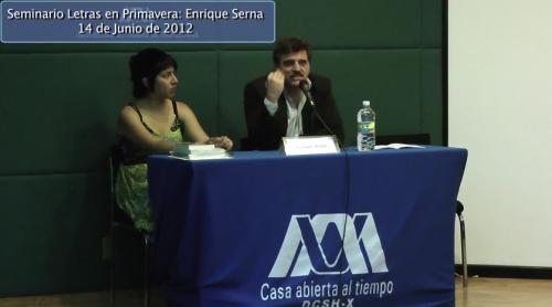 Seminario Letras en primavera: Enrique Serna