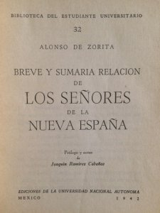 Los señores de la Nueva España