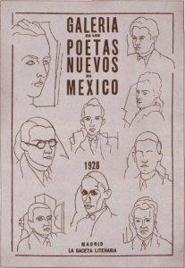 Galería de los poetas nuevos de México