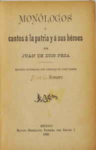 Monólogos y cantos a la patria y a sus héroes