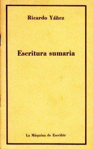 Escritura sumaria