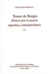 Temor de Borges (Paseos por la poesía argentina contemporánea)