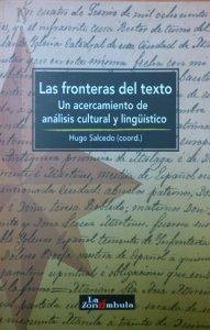 Las fronteras del texto : un acercamiento de análisis cultural y lingüístico