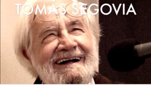 Tomás Segovia en Descarga Cultura.UNAM