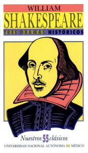 Tres dramas históricos de William Shakespeare