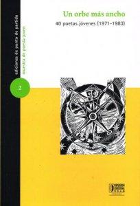 Un orbe más ancho : 40 poetas jóvenes (1971-1983)