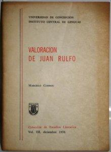 Valoración de Juan Rulfo