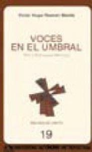 Voces en el umbral : Nueva dramaturgia mexicana