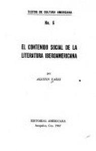 El contenido social de la literatura iberoamericana