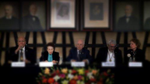 Ceremonia de ingreso de doña Yolanda Lastra