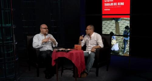 Yuri Herrera en entrevista con Daniel Barrón en Arte Afuera