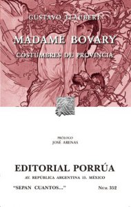 Madame Bovary : costumbres de provincia